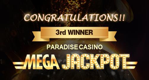MEGA JACKPOT 3rd WINNER