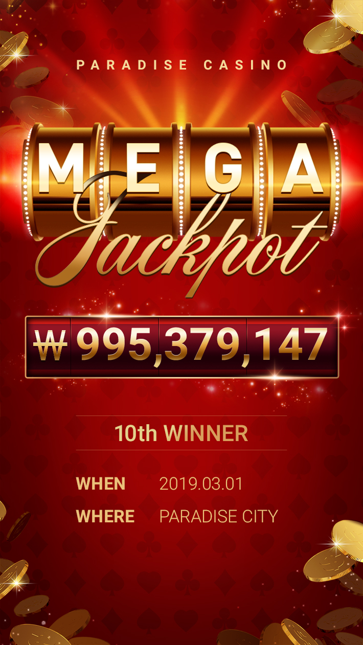 MEGA JACKPOT 10th WINNER