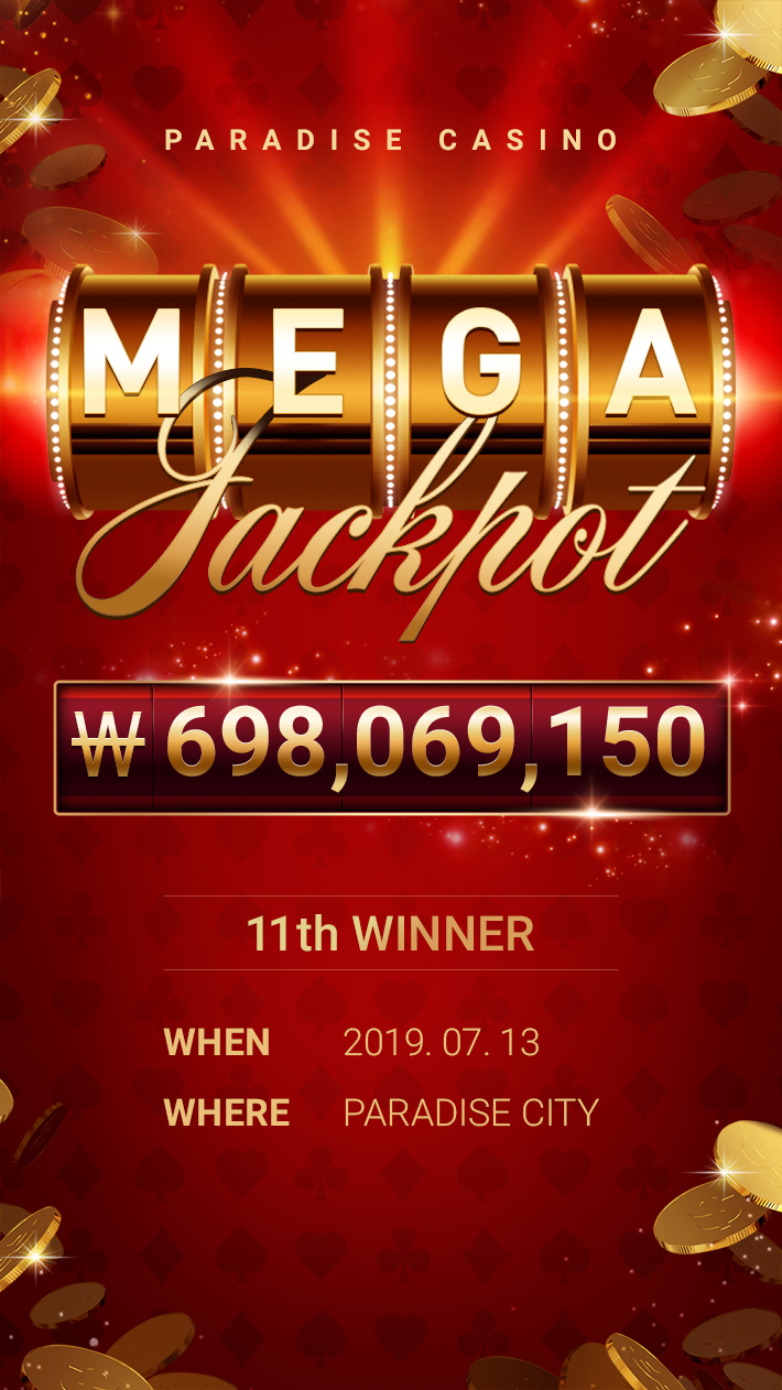MEGA JACKPOT 11th WINNER