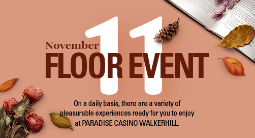 Floor Event in NOVEMBER