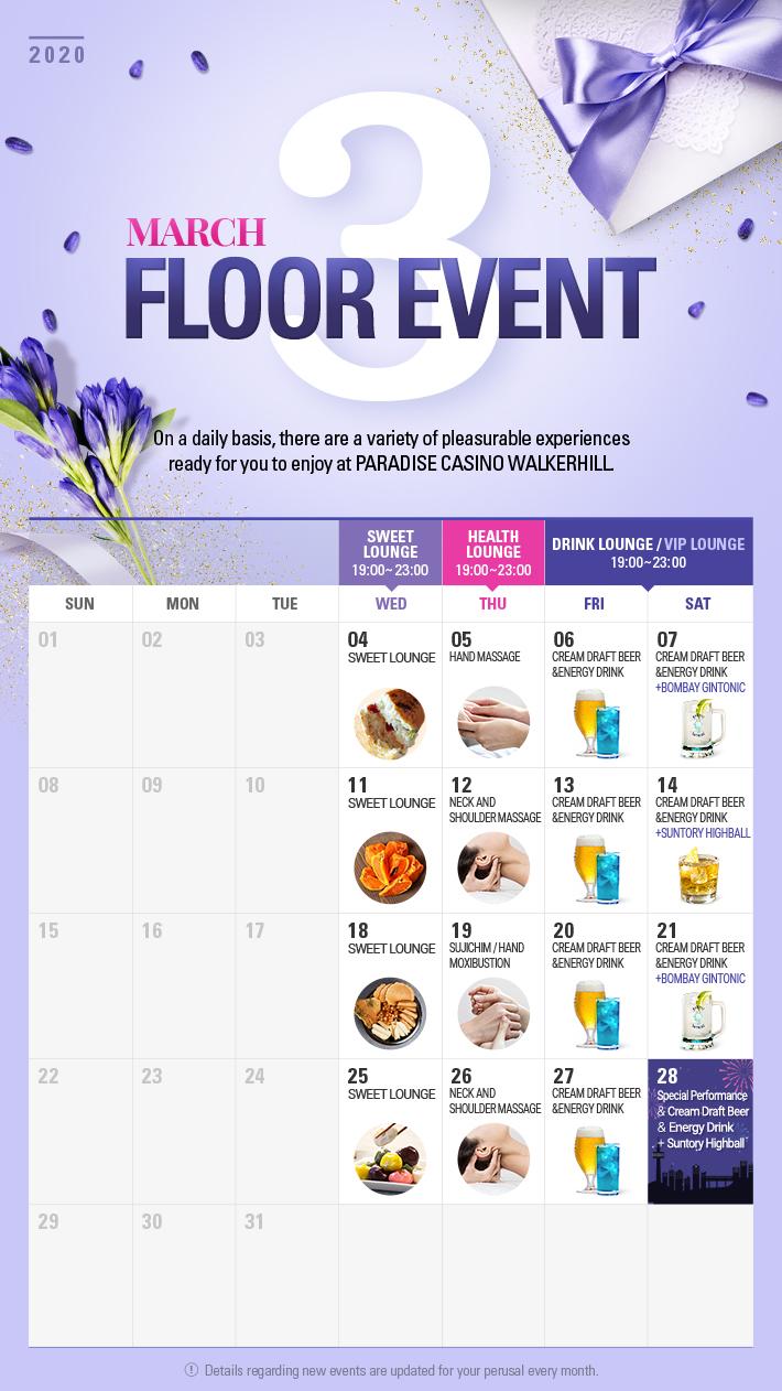 Floor Event in MARCH
